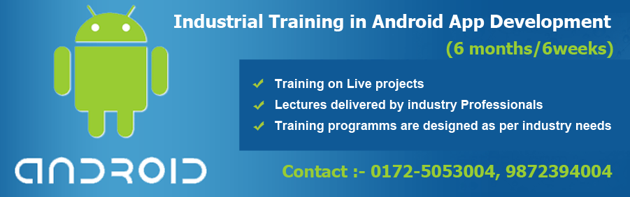 Android Training in Mohali